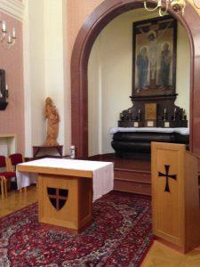 unsere Kapelle im Haus